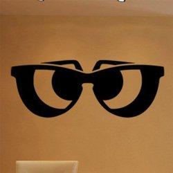 Samolepky na zeď Sluneční brýle 1283