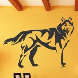 Samolepky na zeď Vlk 1412