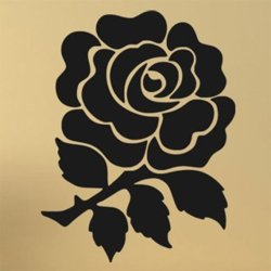 Samolepky na zeď Růže 0200