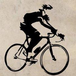 Samolepky na zeď Cyklista 1042