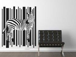Samolepky na zeď Zebra 006