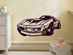 Samolepky na zeď Auto 016 - Samolepící dekorace a nálepka na stěnu