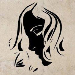 Samolepky na zeď Žena 043