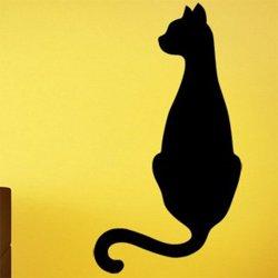 Samolepky na zeď Kočka 0512