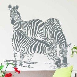 Samolepky na zeď Zebra 003