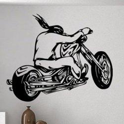 Samolepky na zeď Motorkář 1001