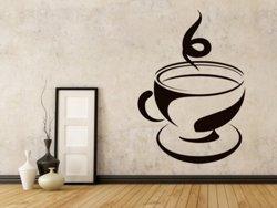 Samolepky na zeď Hrnek kávy 0056