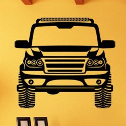 Samolepky na zeď Auto 0905