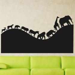 Samolepky na zeď Africká zvířata 002