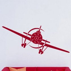Samolepky na zeď Letadlo 002