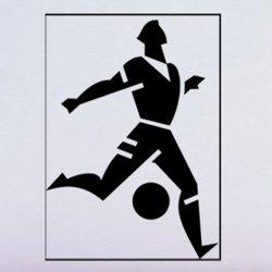 Samolepky na zeď Fotbalista 010