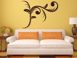 Samolepky na zeď Ornamenty z rostlin 006
