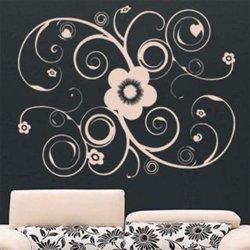 Samolepky na zeď Ornamenty z rostlin 028