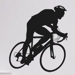 Samolepky na zeď Cyklista 1037
