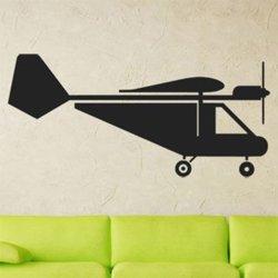 Samolepky na zeď Letadlo 0873