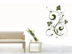 Samolepky na zeď Ornamenty z rostlin 040