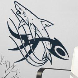 Samolepky na zeď Žralok 001