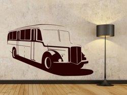 Samolepky na zeď Autobus 002