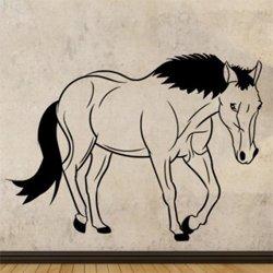 Samolepky na zeď Kůň 0359