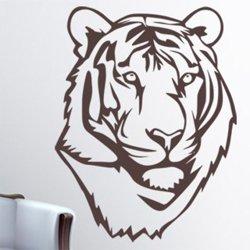 Samolepky na zeď Tygr 011