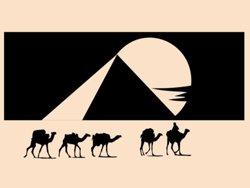 Samolepky na zeď Egypt 001