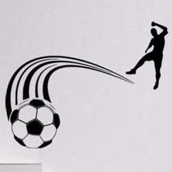 Samolepky na zeď Fotbalista 0578