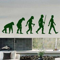 Samolepky na zeď Evoluce 001