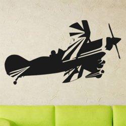 Samolepky na zeď Letadlo 013