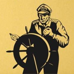 Samolepky na zeď Kapitán 001