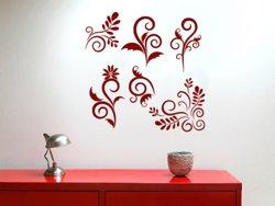 Samolepky na zeď Sada ornamentů 001