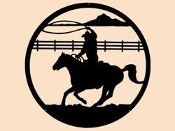 Samolepky na zeď Kůň 0400