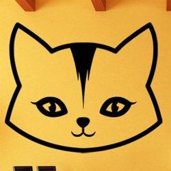 Samolepky na zeď Kočka 0504