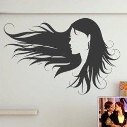 Samolepky na zeď Žena 028