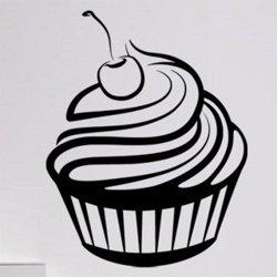 Samolepky na zeď Cupcake 0143