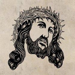 Samolepky na zeď Ježíš 1392