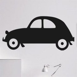 Samolepky na zeď Auto 039