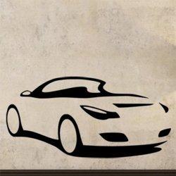 Samolepky na zeď Auto 0891