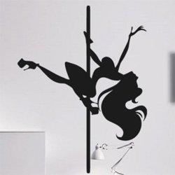 Samolepky na zeď Pole dance 0978
