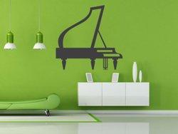 Samolepky na zeď Piano 002