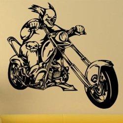 Samolepky na zeď Motorkář 1005