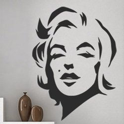 Samolepky na zeď Marilyn Monroe 1353