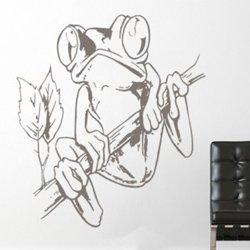 Samolepky na zeď Žába 003