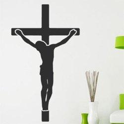 Samolepky na zeď Ježíš na kříži 1374