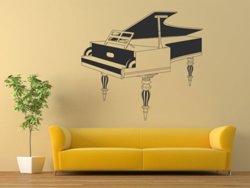 Samolepky na zeď Piano 004