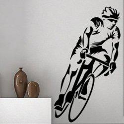 Samolepky na zeď Cyklista 1034