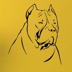 Samolepky na zeď Doga 002
