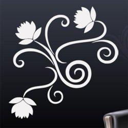 Samolepky na zeď Ornamenty z rostlin 019