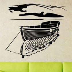 Samolepky na zeď Rybářská loď 0914