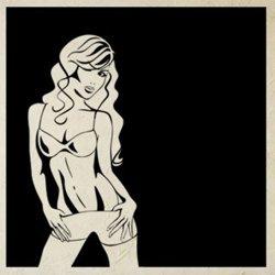 Samolepky na zeď Sexy žena 011