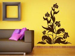 Samolepky na zeď Květiny 035